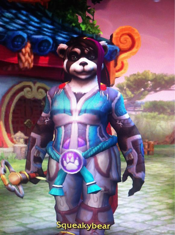 Rainy days and pandaren